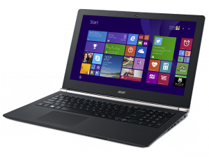 Acer Aspire V Nitro 15,6 UHD IPS VN7-591G-71UX - Fekete - Windows 8.1® 64bit Intel® Core™ i7-4720HQ - 2,60GHz, 8GB DDR3 1600MHz, 128GB SSD + 1TB HDD, NVIDIA® GeForce® GTX960M / 4GB, WiFi, Bluetooth, HD Webkamera, Windows 8.1® 64bit, Fényes Kijelző