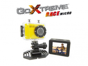 EASYPIX GoXtreme Race Micro 720p Sárga Akció Kamera