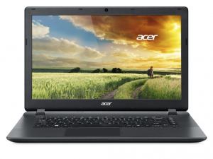 Acer Aspire 15,6 FHD ES1-571-C9DQ - Fekete Intel® Celeron® Dual Core™ 2957U - 1,40GHz, 4GB DDR3 1600MHz, 128GB SSD, DVDSMDL, Intel® HD Graphics, WiFi, Bluetooth, Webkamera, Boot-up Linux, Matt kijelző