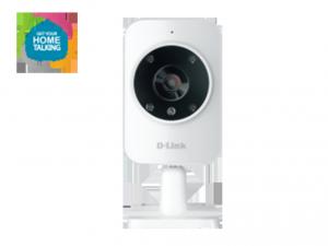 mydlink™ Home Monitor HD - éjjellátó/dönthető/mozgás- és hangérzékelős, HD felbontású kamera, vezetéknélküli AC