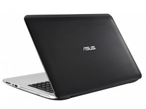 ASUS K555LB XO309D laptop (Intel® Core™ i3-5010U Processzor/8GB/1TB/NVIDIA GeForce 940M/DOS/Fekete / Ezüst)