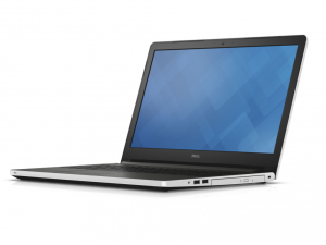 DELL Inspiron 5558 15.6 HD TrueLife fényes, Intel® Core™ i3-5005U Processzor 2.0GHz, 4GB DDR3L, 1TB HDD, Intel® HD Graphics 5500, DVD, Fast Ethernet, 802.11 ac, BT, HDMI, CR, 3cell, Fehérfényes, Linux (DI5558I-5005-4GH1TD4WG-11)