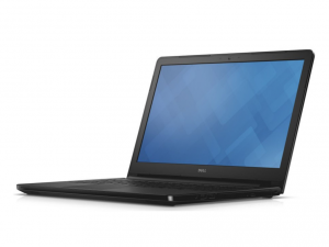 DELL Inspiron 5558 15.6 HD TrueLife fényes, Intel® Core™ i3-5005U Processzor 2.0GHz, 4GB DDR3L, 1TB HDD, nVIDIA GeForce 920 /2GB, DVD, Fast Ethernet, 802.11 ac, BT, HDMI, CR, 3cell, FeketeMatt, Linux (DI5558N2-5005-4GH1TD4BK-11)