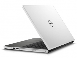 DELL Inspiron 5558 15.6 HD TrueLife fényes, Intel® Core™ i3-5005U Processzor 2.0GHz, 4GB DDR3L, 1TB HDD, Intel® HD Graphics 5500, DVD, Fast Ethernet, 802.11 ac, BT, HDMI, CR, 3cell, Fehérfényes, Win10 (DI5558I-5005-4GH1TW14WG-11)(INSP5558-118)