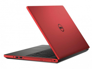 DELL Inspiron 5559 15.6 HD fényes, Intel® Core™ i5-6200U Processzor, 4GB DDR3L, 500GB HDD, AMD Radeon R5 M335 /2GB, DVD, Fast Ethernet, 802.11 ac, BT, HDMI, CR, 3cell, Piros, Win10H