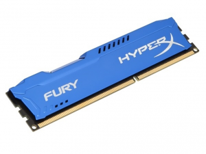 Kingston Memória HyperX Fury Blue - DDR3 1600MHz / 4GB - CL10