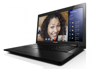 Lenovo Ideapad 17,3 HD+ LED G70-35 80Q5000WHV - Fekete AMD® Quad-Core™ A4-6210 1,80GHz, 4GB/1600MHz, 500GB SATA, DVDSMDL, AMD® Radeon™ HD, WiFi, Bluetooth, Webkamera, FreeDOS, Fényes kijelző