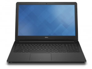Dell Vostro 3558 Black notebook Ci3 5005U 2.0GHz 4GB 128GB SSD HD5500 Win10H