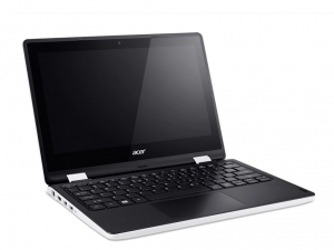 Acer Aspire 11,6 HD Multi-touch R3-131T-C246 - Fehér / Fekete - Windows® 10 Home Intel® Celeron® Dual Core™ N3050/1,60GHz - 2,16GHz/, 4GB 1600MHz, eMMC 32GB HDD, Intel® HD Graphics, WiFi, Bluetooth, HD Webkamera, Windows® 10 Home, Fényes Kijelző