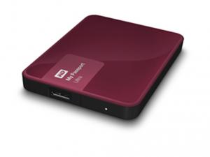 Western Digital 2,5 My Passport Ultra 2TB USB3.0 - Wild Berry Külső merevlemez