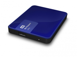 Western Digital 2,5 My Passport Ultra 3TB USB3.0 - Noble Blue Külső merevlemez