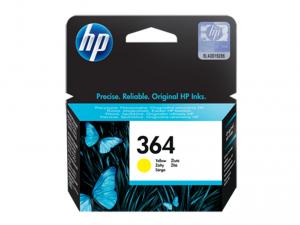 HP 364 sárga eredeti tintapatron