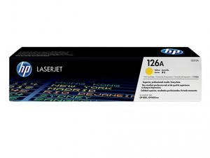 HP 126A sárga eredeti LaserJet tonerkazetta