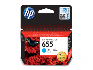 HP 655 ciánkék tintapatron