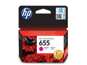 HP 655 magenta tintapatron