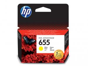 HP 655 sárga tintapatron