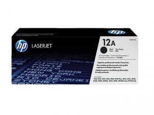 HP 12A eredeti fekete LaserJet tonerkazetta