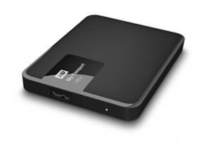Western Digital 2,5 My Passport Ultra 2TB USB3.0 - Classic Black Külső merevlemez