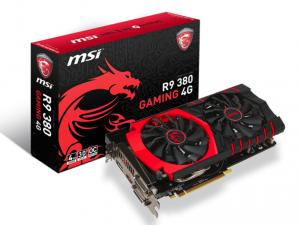 MSI Videókártya PCIe AMD R9 380 4GB GDDR5