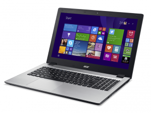 Acer Aspire V3-574G-35NM laptop (Intel® Core™ i3-4005U Processzor/4GB/500GB/NVIDIA GeForce 940M/Linux/Fekete)