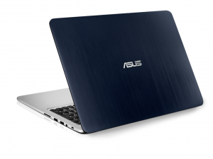 ASUS 15,6 FHD K501LX-DM145D - Sötétkék-Ezüst - FreeDOS Intel® Core™ i3-5010U (3M Cache, up to 2.10 GHz), 8GB, 1TB, Nvidia® GTX 950M 2GB, Cable, Matt kijelző