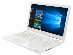 Toshiba Satellite L50-C-14T laptop (Intel® Core™ i3-4005U Processzor/4GB/1TB/Intel® HD Graphics 4400/Windows 8.1/Fehér)