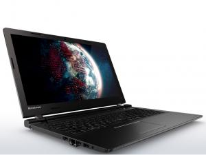 LENOVO IDEAPAD 100-15IBY, 15.6 HD TN GL, Intel® PENTIUM QUADCORE N3540, 4GB, 128GB SSD, ODD, DOS, fekete