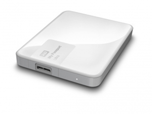 Western Digital My Passport Ultra 3TB Brilliant White Külső merevlemez