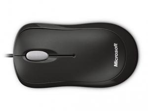 Microsoft Optical Mouse fekete egér