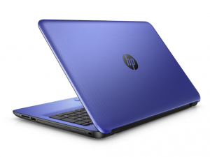 HP 15-AY030NH, 15.6 FHD AG Intel® Core™ i3 Processzor 5005U, 4GB, 1TB, Intel® HD 5500, Noble Blue, kék (216461)
