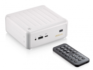 ASRock Beebox N3000-4G128S/W Fehér Mini PC