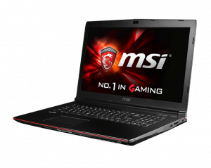 MSI Gamer 17,3 FHD GP72 2QE(Leopard Pro)-043XHU - Fekete - Intel® Core™ i5-4210H - 2,90GHz, 8GB /1600MHz, 1TB SATA, DVDSMDL, NVIDIA® GeForce® GTX950M / 2GB, WiFi, Bluetooth, HD Webkamera, FreeDOS, Matt kijelző