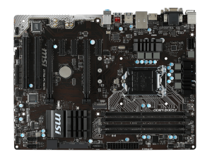 MSI s1151 Z170A PC MATE Alaplap