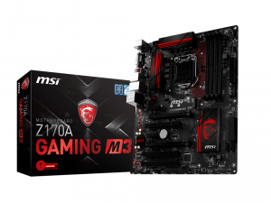MSI s1151 Z170A GAMING M3 Alaplap