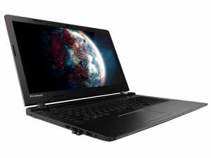 Lenovo Ideapad 15,6 HD LED 100 - 80QQ018UHV - Fekete Intel® Core™ i3-5005U /2,00GHz/, 4GB 1600MHz, 128GB SSD, DVDSMDL, NVIDIA® GeForce® 920MX / 2GB, Wifi, Bluetooth, Webkamera, FreeDOS, Fényes kijelző