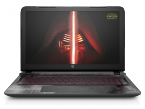 HP Pavilion 15-an001na Star Wars™ Special Edition, 15.6 FHD AG IPS, Intel® Core™ i5, i5-6200U dual, 6GB, 1TB, Nvidia GeForce 940M 2GB, WIN10 ENG, Darkside Black - Star Wars Special Edition, 1Y+1YCP