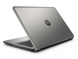 HP 15-AY001NH, 15.6 FHD AG Core™ i3-5005U Processzor, 4GB, 500 HDD, Intel® HD GRAPHICS, WIN10, TURBO EZÜST (214395)