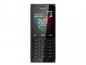 Nokia 222 Dual SIM Fekete telefon