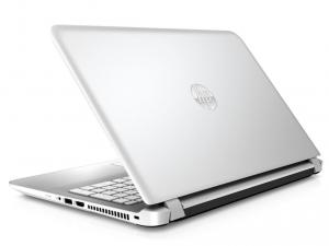 HP Pavilion 15-AB207NH laptop (Intel® Core™ i5-5200U Processzor/8GB/1TB/NVIDIA GeForce 940M/DOS/Hófehér - Vízszintesen szálcsiszolt minta)