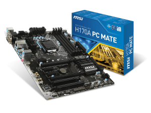 MSI s1151 H170A PC MATE Alaplap