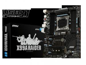 MSI s2011 X99A RAIDER Alaplap