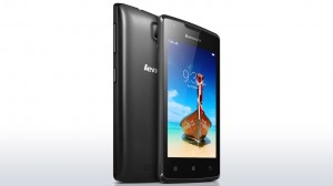Lenovo A1000 - PA1R0010RO - Dual SIM Fekete okostelefon