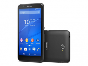 Sony Xperia E4 Fekete okostelefon