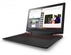 Lenovo Ideapad 15,6 FHD IPS LED Y700 - 80NV00X2HV - Fekete Intel® Core™ i7-6700HQ /2,60GHz - 3,50GHz/, 8GB 2133MHz, 1TB HDD, Nvidia® GTX 960M / 4GB, Wifi, Bluetooth, Webkamera, Háttérvilágítású billentyűzet, FreeDOS, Matt kijelző