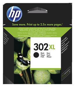 HP 302XL fekete tintapatron