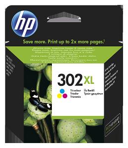 HP 302XL színes tintapatron
