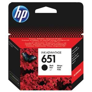 HP 651 fekete tintapatron