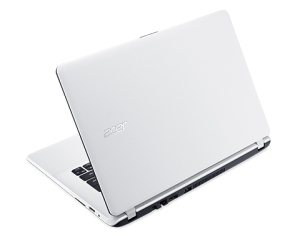 Acer Aspire 13,3 HD ES1-331-P5P4 - Fehér - Windows® 10 Home Intel® Pentium® Quad Core™ N3700/1,60GHz - 2,40GHz/, 4GB 1600MHz, eMMC 32GB HDD, Intel® HD Graphics, WiFi, Bluetooth, Webkamera, Windows® 10 Home, Matt kijelző