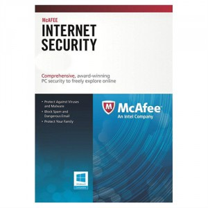 McAfee Internet Security 1 év 1 PC