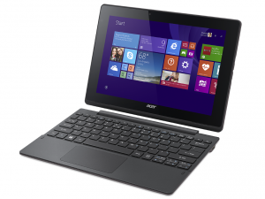 Acer Aspire SW3-013-12CD 64 GB Net-tablet PC - 25.7 cm (10.1) - In-plane Switching (IPS) Technology - Wireless LAN - Intel® Atom™ Processzor Z3735F Quad-core (4 Core) 1.33 GHz